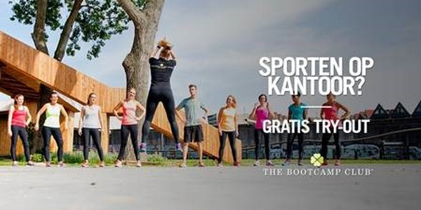 Nationale Sportweek - Lunch Bootcamp