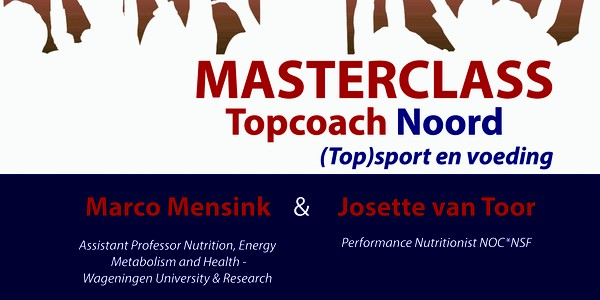 Masterclass Topcoach Noord - (Top)sport & Voeding